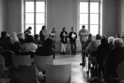 Lecture des élèves du collège de Champlitte